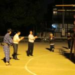 新道小学校盆踊り01