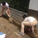 福知山災害でのボランティア活動