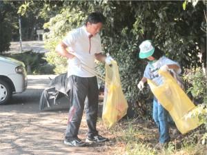 京都伝統文化の森推進協議会 第12回東山クリーン作戦