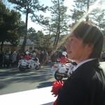 平成26年京都府警察年頭視閲式 警察常任委員会委員長公務
